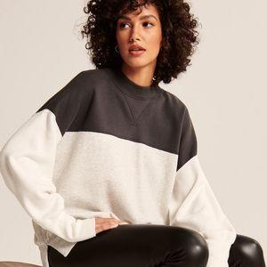 abercrombie | tunic sweatshirt